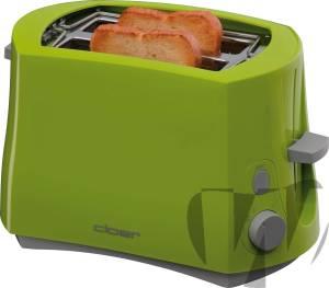Cloer - 3317-4 Toaster grün