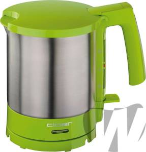 Cloer 4717-4 Wasserkocher 1,5 l grün