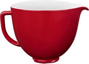 KitchenAid 5 KSM 2 CB 5ER Keramikschüssel 4,7 L rot
