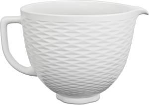 KitchenAid 5 KSM 2 CB5TLW Keramikschüssel 4,7 L strukturiert