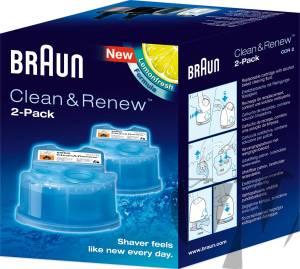 Braun - CCR 2 Reinigungs-Kartusche 2er-Pack