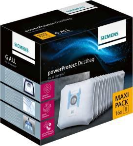 Siemens VZ16GALL Type PowerProtect Staubbeutel: Maxi Pack