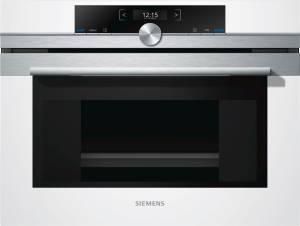 Siemens CD 634 GAW0 Kompaktdampfgarer weiß