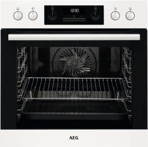 AEG EEB 331000 W weiß Backofen Versenkknebel