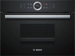 Bosch CDG634AB0 Vulkan Schwarz Kompaktdampfgarer