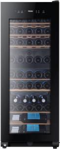 Haier WS 53 GDA Weinklimaschrank schwarz 2 Kältezohnen