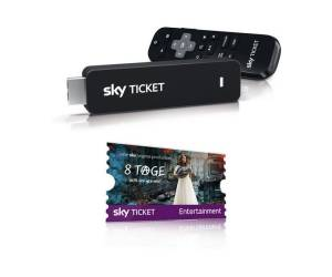 Sky Sky Ticket TV Stick Voucher inkl. 3 Monate Entertainment