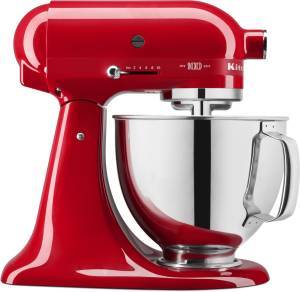 KitchenAid 5 KSM 180 HESD Queen of Heart Limited Edition passion red