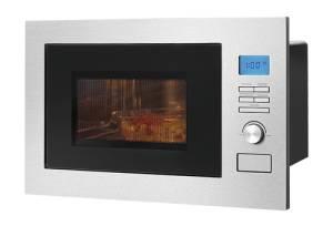 Bomann MWG 3001 H EB Einbau-Mikrowelle im rahmenlos Design mit Grill und Heißluft