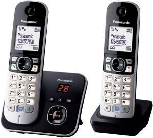 Panasonic - KX-TG 6822 GB  schwarz