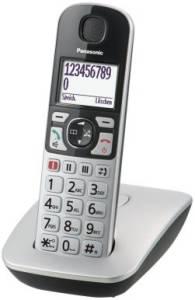 Panasonic - KX-TGE 510 GS  silber Cordlessphone