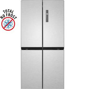Bomann KG 7307 IX Edelstahl-OptikA+ Cross Door NoFrost French Door
