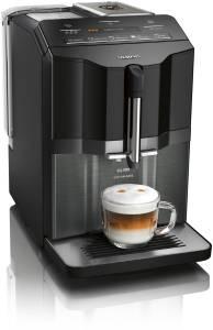 Siemens TI 355 F 09 DEextraKlasse Kaffeevollautomat EQ.300 schwarz (Glas)