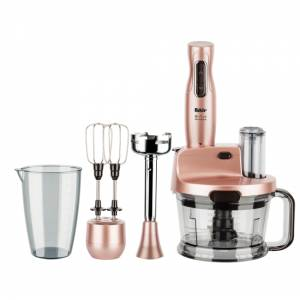Fakir Mr Chef Quadro Stabmixer-Set gold-rose