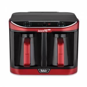 Fakir Kaave Dual Pro rouge rot Mokkakaffeemaschine