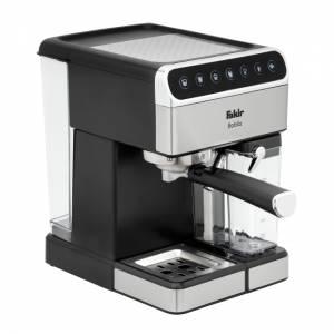 Fakir Babila silber Kaffeemaschine mit Milchaufschäumer
