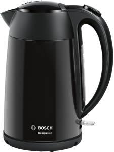 Bosch TWK3P423 Bosch Wasserkocher kabellos Edelstahl jet black