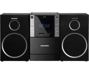Grundig - MS 240 Mini-System schwarz/silber