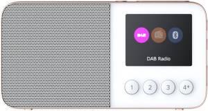 Pure Move T4 weiß Taschenradio Bluetooth DAB/DAB+/UKW Akku
