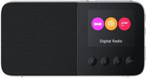 Pure Move T4 schwarz Taschenradio DAB, DAB+ & UKW Radio Bluetooth Akku Farbdisplay