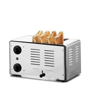 Gastroback Rowlett Edelstahl-Toaster (4 Toast) 42004