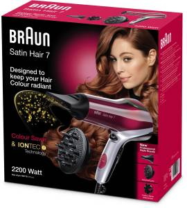 Braun HD 770 Color Saver Satin Hair 7