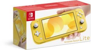Nintendo - Switch Lite Konsole gelb