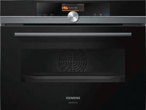 SIEMENS studioLine CM 836 GPB 6 studioLine Einbau-Kompaktbackofen mit Mikrowellenfunktion, 60 x 45cm