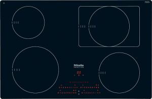 Miele KM 6352 Autarkes Glaskeramik-Kochfeld mit Induktion, flächenbündig
