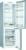 Bosch KGN 36 ELEAExclusiv NoFrost Edelstahl-Optik .inklusive 2-Mann-Service .bis zum Aufstellungsort