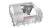 Bosch SBI 4 HCS 48 EXXL Besteckschublade Edelstahl integrierbar