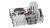 Bosch SMI 4 HTW 31 E Einbau-Spüler weiß
