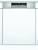 Bosch SMI 6 ECS 57 E Besteckschublade Einbau-Spüler Edelstahl