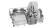 Bosch SMS 4 HVI 31 E Besteckschublade Home Connect Edelstahl lackiert