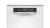 Bosch SPS 6 ZMW 35 E 45cm Besteckschublade Zeolith weiß