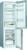 Bosch KGV 36 VLEA LowFrost Edelstahl-Optik