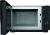 Bauknecht MW 013 SB mit Grill, Mikrowelle und Heißluft aluminium/silber
