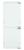 Bauknecht KGIS 16F2 P StopFrost 158 cm Nische