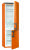 Gorenje RK 6192 EO A++, H 185 cm, B 60 cm, FreshZone, juicy orange, KS 225L, GT 94 L