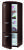 Gorenje RK 60319 OCH-L A++, H 170B 60 cm, dark chocolate, TA links, Umluft-Kühlsystem