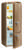 Gorenje RK 60319 OCO A++, H 170B 60 cm, royal coffee, TA rechts, Umluft-Kühlsystem