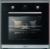 Oranier EBP 9881 ES Selbstreinigung Edelstahl / Schwarzglas