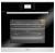 Oranier EBP 9884 TC Selbstreinigung 16 Funktionen Edelstahl / Schwarzglas Cool Door
