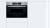 Bosch CMG 636 BS 1 Kompaktbackofen mit Mikrowelle