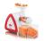 Severin ES 3568 Slow Juicer Saftpresse weiß/rot
