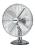 DekoVries Stratos B 500 osz. pegro Tischventilator 29 cm, 35W,