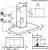 AEG DBB 5660 HM Square 60 cm Kaminhaube Touch Control
