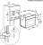 AEG KMK 721000 M Kompaktgerät Mikrowelle & Grill Einbauhöhe 45 cm