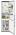 AEG RCB 63724 OXA++ -21% NoFrost LED-Innenbeleuchtung Edelstahltürfronten