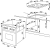 Amica EHC 933 001 E Edelstahl 1-fach Teleskopauszüge rahmenlos